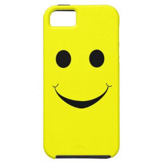 Caisse heureuse jaune de visage - cas heureux de l coque iPhone 5
