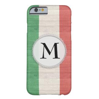 Caisse italienne personnalisable de drapeau coque iPhone 6 barely there