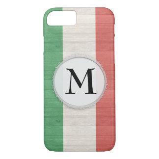 Caisse italienne personnalisable de drapeau coque iPhone 7