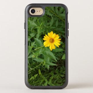 Caisse jaune de fleur coque otterbox symmetry pour iPhone 7