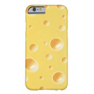 Caisse jaune de l'iPhone 6 de texture de tranche d