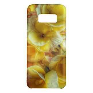 Caisse jaune de téléphone de la galaxie S8 de Coque Case-Mate Samsung Galaxy S8