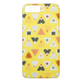 Caisse jaune de téléphone d'ONIGIRI Coque iPhone 8 Plus/7 Plus