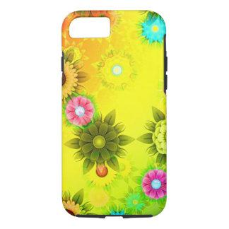 Caisse jaune lumineuse de téléphone de conception coque iPhone 7