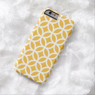 Caisse jaune solaire géométrique de l'iPhone 6