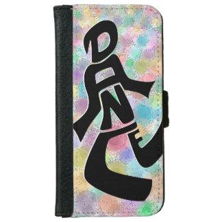 Caisse lumineuse de portefeuille de l'iPhone 6 de