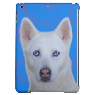 Caisse mate intuitive d'air d'iPad de chien de