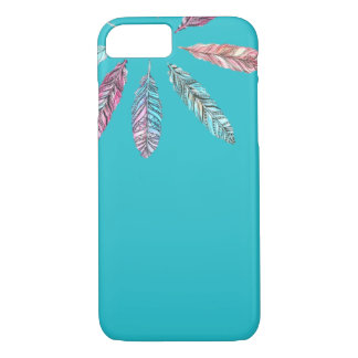 Caisse mignonne de la plume iPhone/iPad Coque iPhone 7