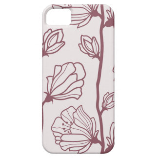 Caisse minimaliste de fleur coque barely there iPhone 5