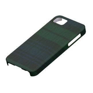 caisse moderne d'impression de tartan de montre coques iPhone 5 Case-Mate
