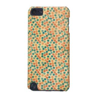 Caisse multicolore de point coque iPod touch 5G