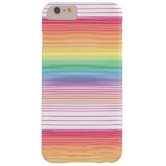caisse multicolore géniale de téléphone de rayure coque iPhone 6 plus barely there