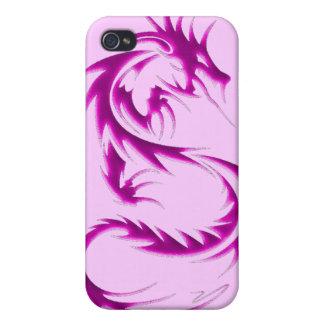 Caisse noire d iPod de dragon Coque iPhone 4 Et 4S