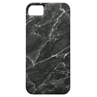 Caisse noire de l'iPhone 5/5S de marbre à peine là Coques iPhone 5