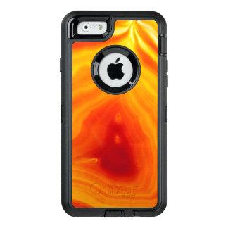 Caisse orange de téléphone d'Otterbox d'agate Coque OtterBox iPhone 6/6s