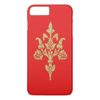 Caisse personnalisable fleurissante authentique coque iPhone 7 plus