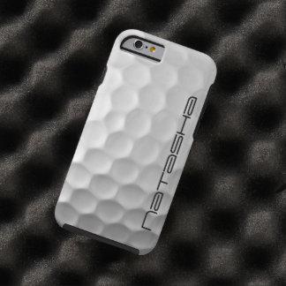 Caisse personnalisée de l'iPhone 6 de boule de gol