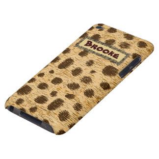 Caisse personnalisée par poster de animal de motif coque iPod touch Case-Mate