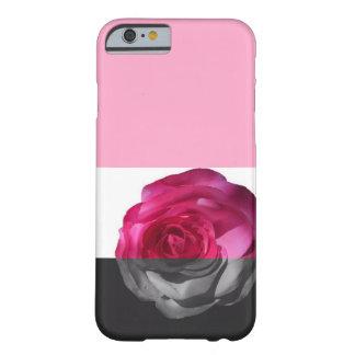 Caisse plongée de téléphone de rose coque iPhone 6 barely there
