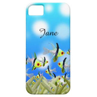 Caisse, poissons et mer de portable d'AQUARIUM Étuis iPhone 5