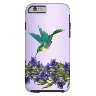 Caisse pourpre de l'iPhone 6 de colibri de violett Coque Tough iPhone 6