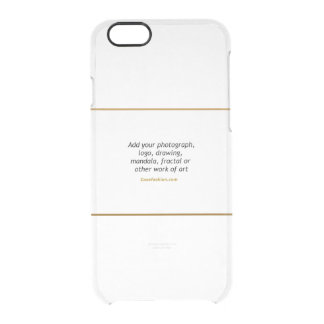 Caisse rare de déflecteur de l'iPhone 6 clairement Coque iPhone 6/6S