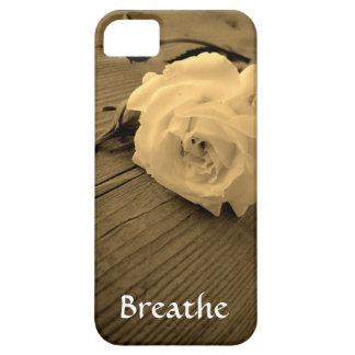 Caisse rose d'Iphone 5/5S de sépia de cru Étuis iPhone 5