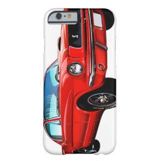 Caisse rouge de l'iPhone 6 de mustang Coque iPhone 6 Barely There