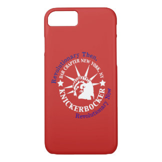 Caisse rouge de portable de Knickerbocker Coque iPhone 7