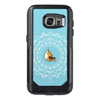 Caisse tricolore d'Otterbox de corgi de Namaste Coque OtterBox Samsung Galaxy S7