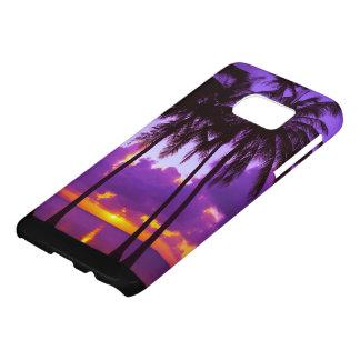 Caisse tropicale de la galaxie S7 de Samsung du Coque Samsung Galaxy S7