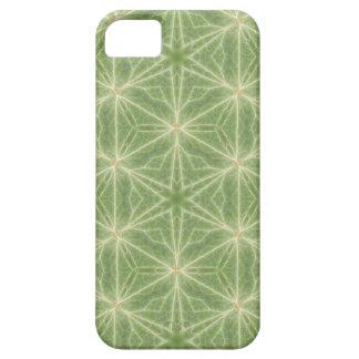 Caisse verte de téléphone de dessin géométrique de coque iPhone 5 Case-Mate