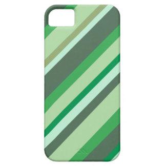 Caisse verte de téléphone de rayures coques iPhone 5 Case-Mate
