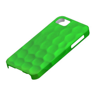 Caisse verte d'Iphone 5 de boule de golf Coques Case-Mate iPhone 5