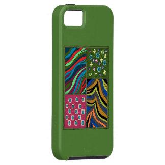 Caisse verte tropicale de l'iPhone 5/5s Casemate Coque iPhone 5