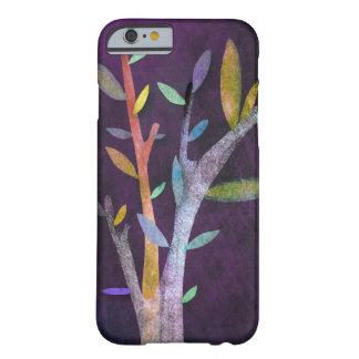 Caisse violette d'arbre