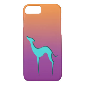 Caisse violette orange bleue de l'iPhone 7 de Coque iPhone 7