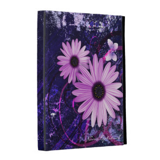 Caisses de folio d'iPad de l'art abstrait 49A Coque iPad