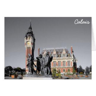 Calais, France Carte De Vœux