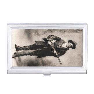 Calamity Jane en 1895 par H.R. Locke Boîtiers Pour Cartes De Visite