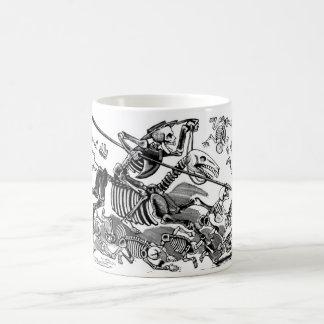 """""""Calavera de Don don Quichotte"""" circa 1900's tôt Mug Blanc"""