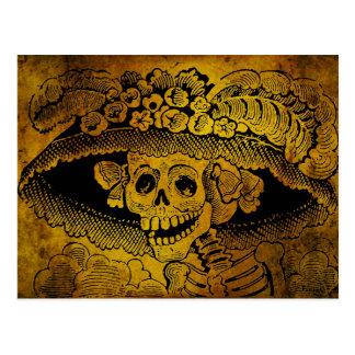 Calavera Garbancera par José Guadalupe Posada Cartes Postales