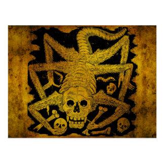 Calavera Huertista par José Guadalupe Posada Carte Postale