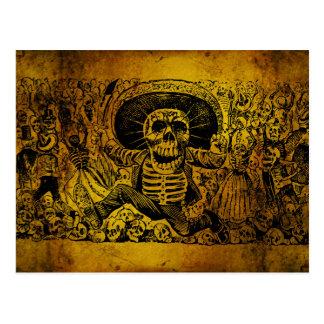 Calavera Oaxaqueña par José Guadalupe Posada Carte Postale