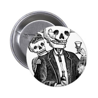 Calaveras de Guadalajara, Mexique Badges