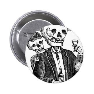 Calaveras de Guadalajara, Mexique Badges