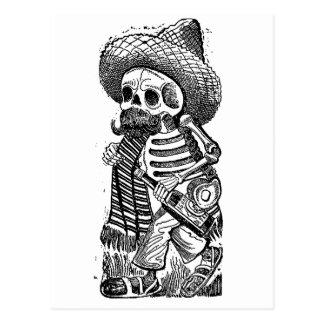 Calaveras du tas par José Guadalupe Posada Carte Postale