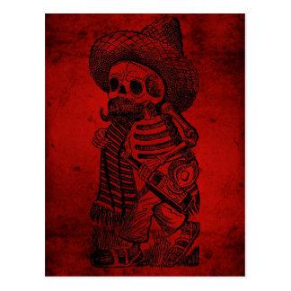 Calaveras du tas par José Guadalupe Posada Cartes Postales