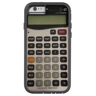Calculatrice architecturale drôle coque iPhone 6 tough xtreme