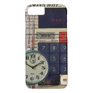 Calculatrice financière de comptable de conseiller coque iPhone 7